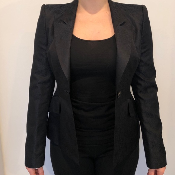 e0123d51dbb Hugo Boss Jackets & Blazers - Women's Hugo Boss Satin Blazer size 2